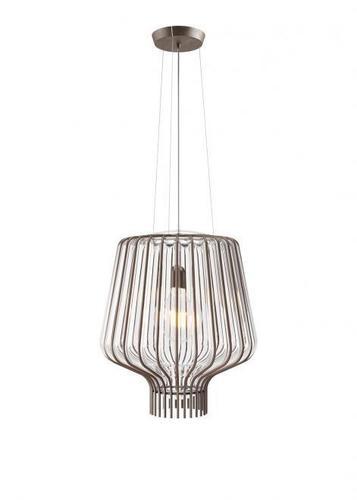 Lampa suspendată Fabbian Saya F47 22W 40cm - Maro și transparent - F47 A09 00