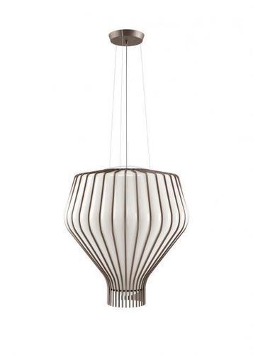 Lampa suspendată Fabbian Saya F47 22W 48cm - alb și transparent - F47 A14 01