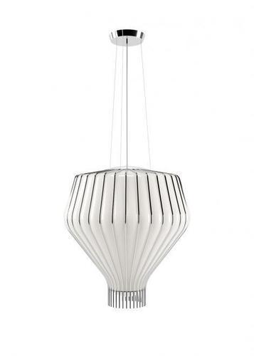 Lampa suspendată Fabbian Saya F47 22W 48cm - alb și crom - F47 A15 01