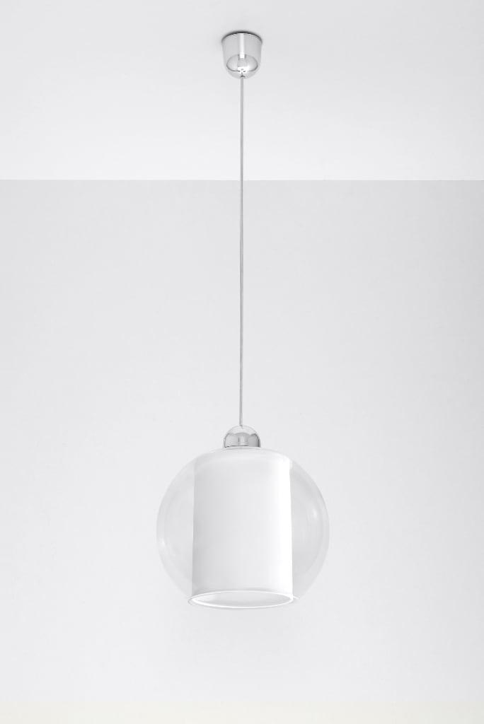 Lampa suspendată Aureole White