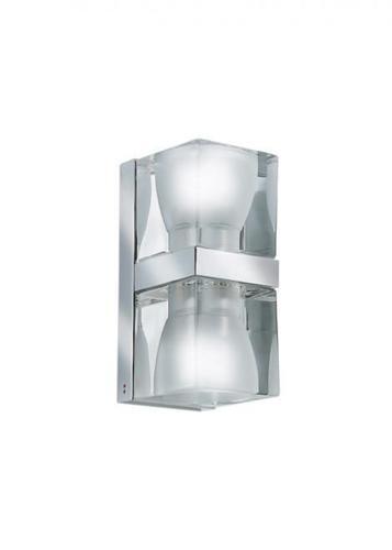 Lampă de perete Fabbian Cubetto D28 7W Chrome - Transparent - D28 D01 00