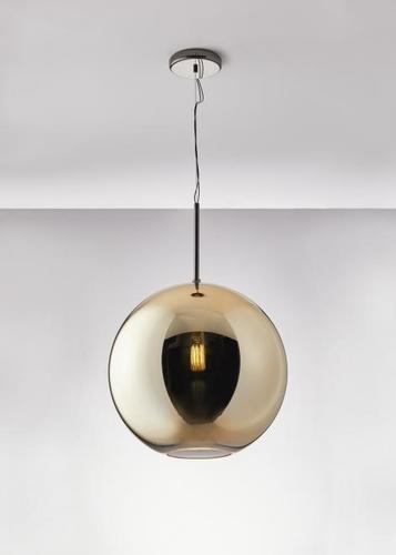 Lampa suspendată Fabbian Beluga Royal D57 22W 40cm - Aur - D57 A61 12