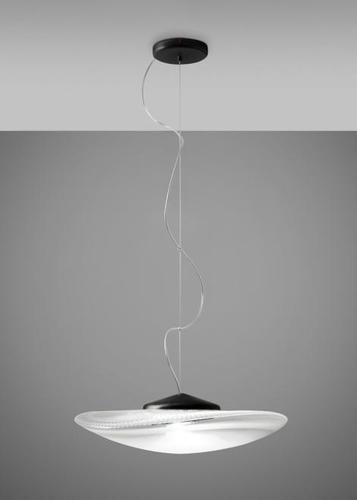 Lampa suspendată Fabbian Loop F35 7W Black headliner - F35 A03 00
