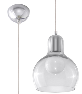 Lampa suspendată CARLA transparent small 0