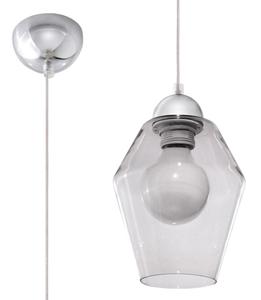 Lampa suspendată din grafit SILVIA small 0