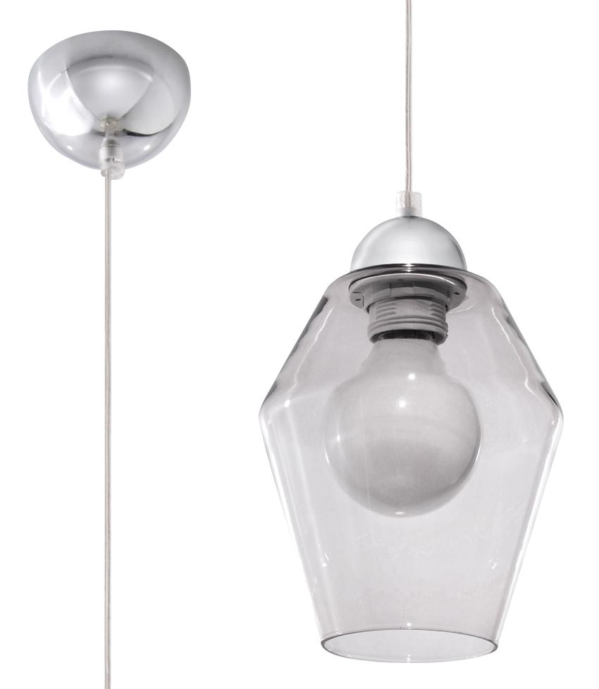 Lampa suspendată din grafit SILVIA