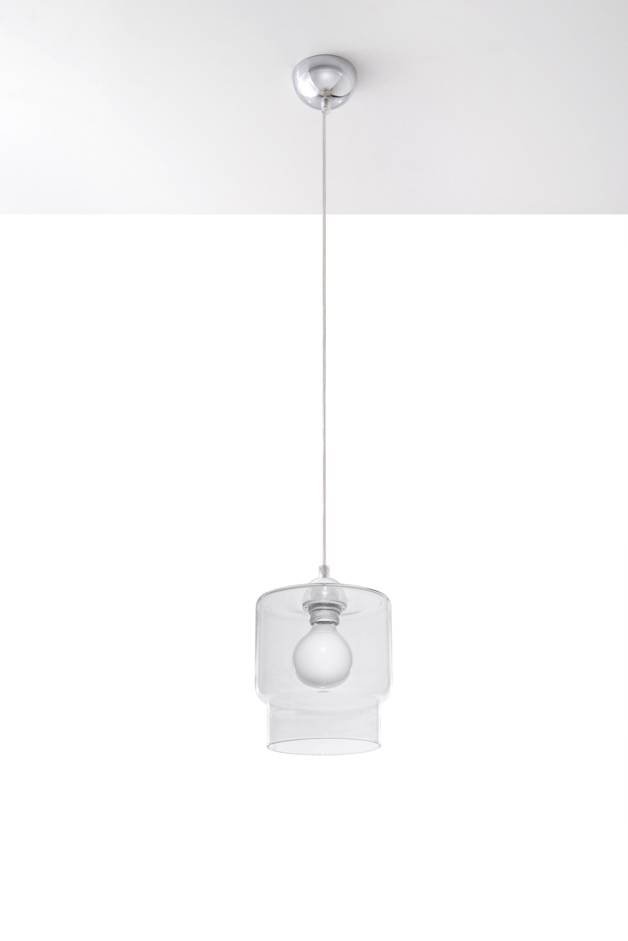 Lampa suspendată PAOLA Transparent