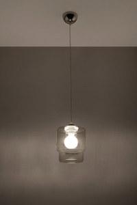 Lampa suspendată din grafit PAOLA small 2
