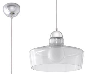 Lampa suspendată ROSALIA Transparent small 0