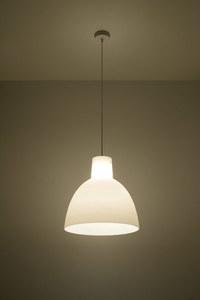 Lampă cu pandantiv OLIVIA alb small 2