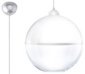Lampa suspendată modernă GINO alb small 0