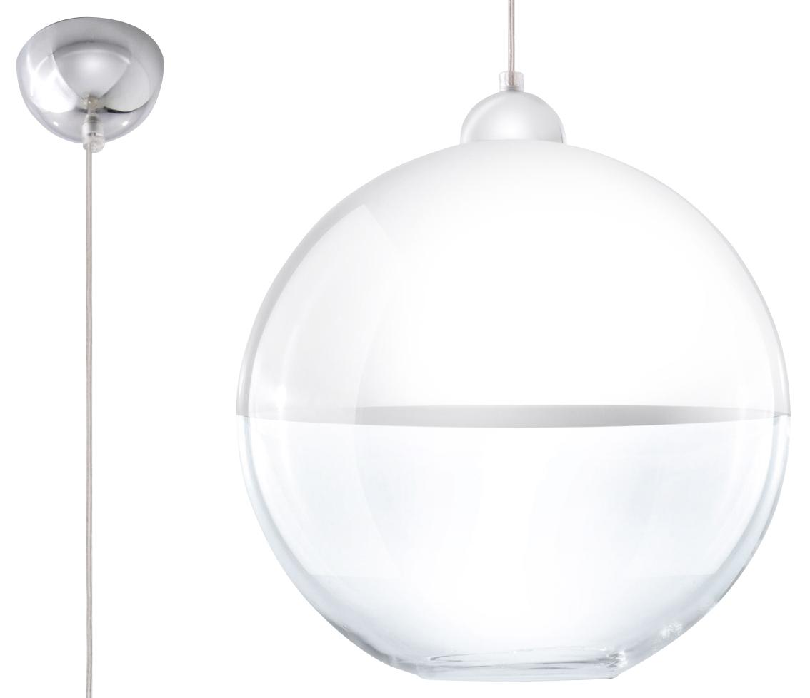 Lampa suspendată modernă GINO alb