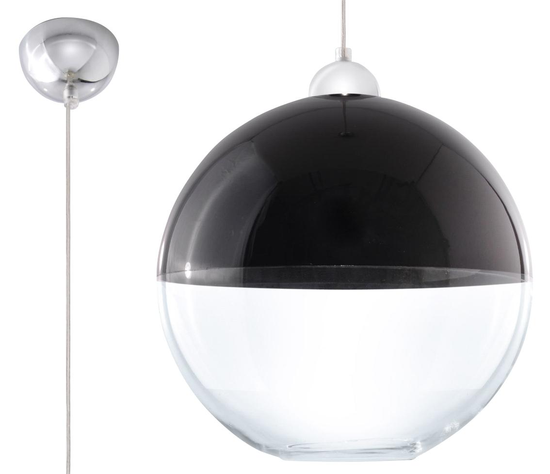 Lampa suspendată GINO negru