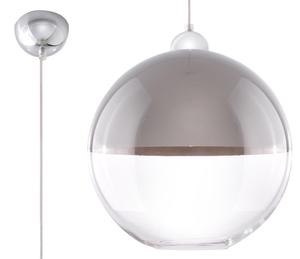 Lampa suspendată GINO gri small 0