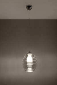 Lampa suspendată ALVARO grafi small 2