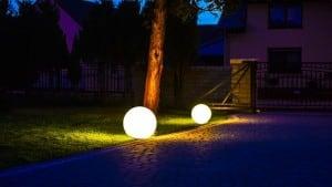 Bilă electrică - Flexi Ball Electric 50 cm cu cablu și bec small 1