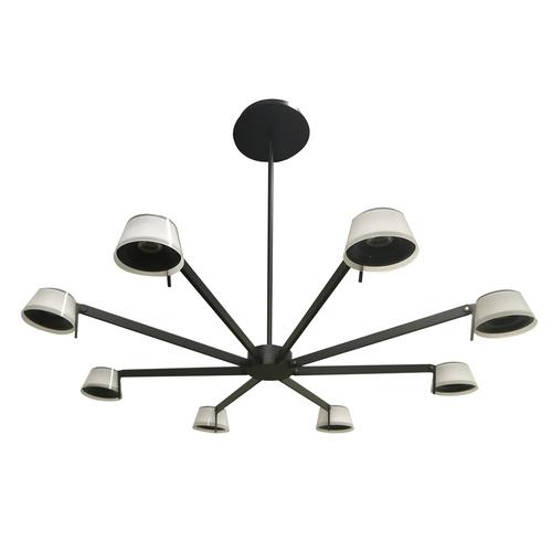 Lampă de tavan Hamburg Loft 38 Negru - 605014308