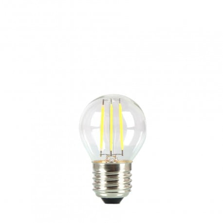 Bec pentru ghirland LED ball 45mm 4W culoare transparentă a căldurii