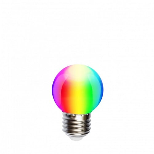 Bec pentru ghirland LED ball 45mm 1W RGB