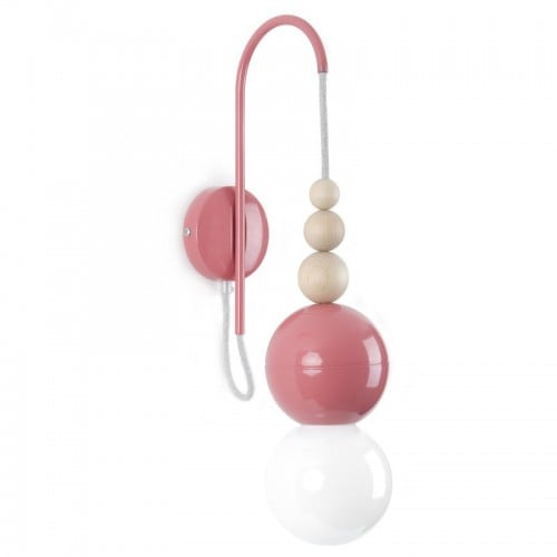 Aplica Loft Bala roz