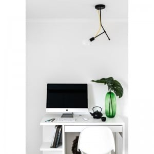 Lampa de tavan industrial Tubo Loft 3 small 1