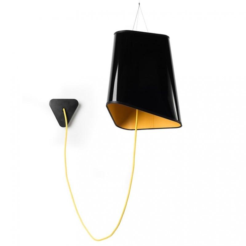 Loft Trigone lampă cu pandantiv galben-negru