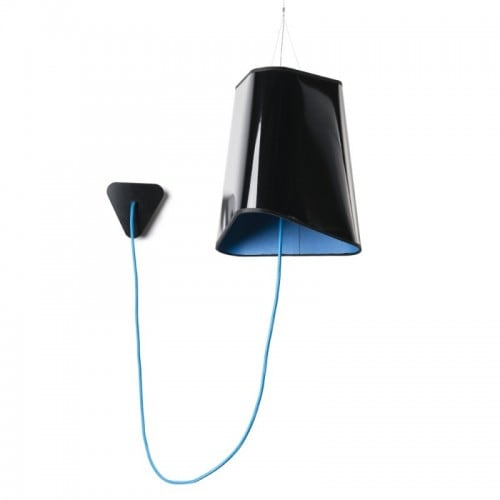 Loft Trigone lampă cu pandantiv negru
