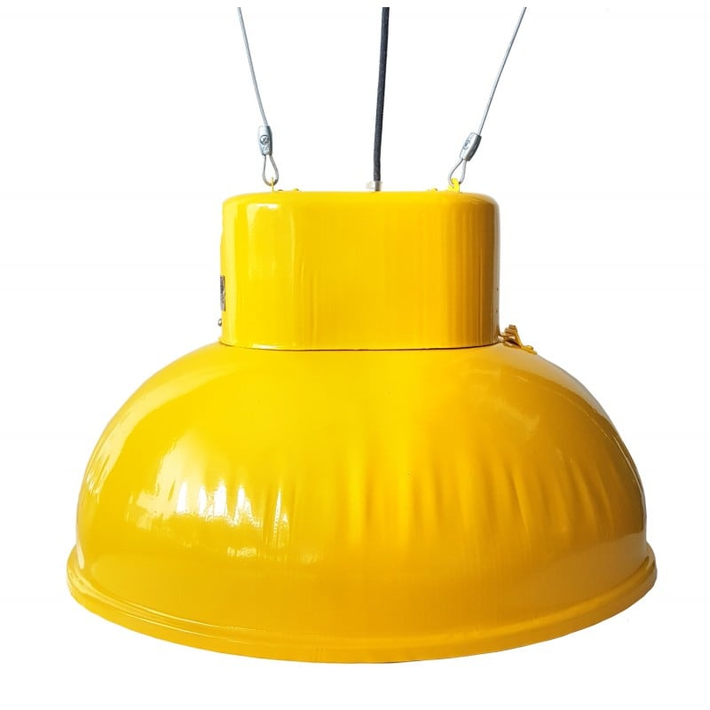 Lampă mare suspendată din fabrică ORP 2-1 galben