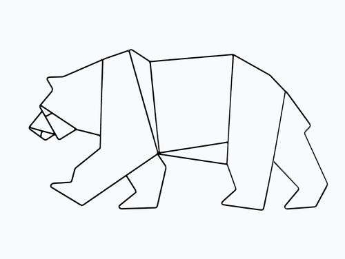 Wallart BEAR