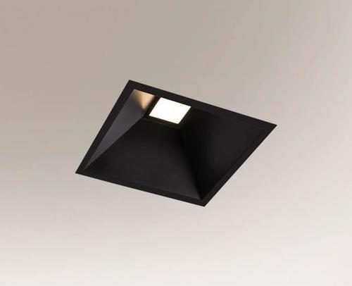 Corp de iluminat încastrat IP54, pătrat, încastrat Shilo Ube Il IP54 8050