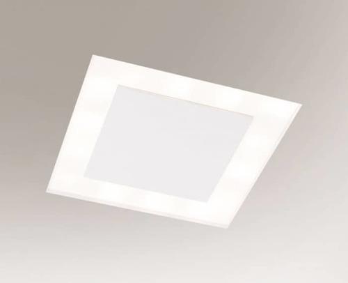 Lampa încastrată albă BANDO 3325-B Shilo 18xE27 9W pătrat