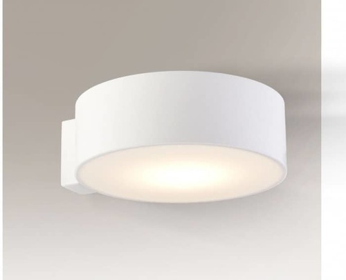 Lampă rotundă de perete Shilo Zama 4447