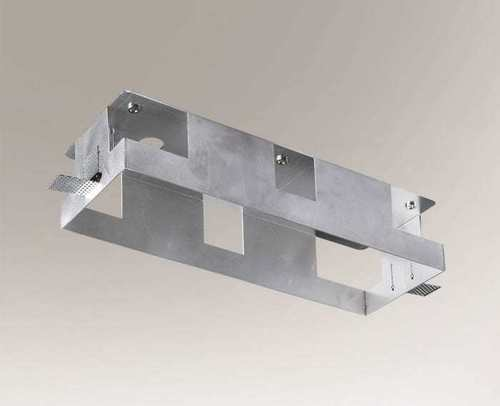 Cutie de montare KOMORO 3341 lampă triplă din aluminiu