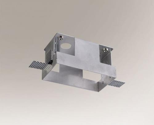 Cutie de montare OMURA 3337 pentru lampa din două puncte din aluminiu
