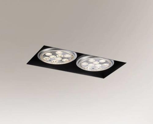 Lampa de control YATOMI 3331-B GU10 15W, fără cutie de montare