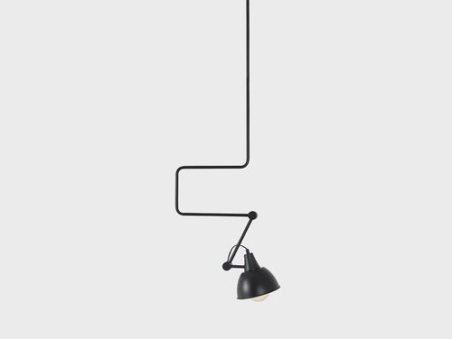 Lampă cu pandantiv COBEN LONG - negru