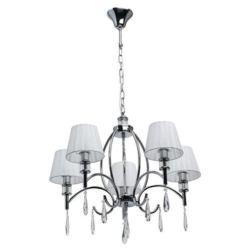 Lampa suspendată Vega Elegance 5 Chrome - 329011705