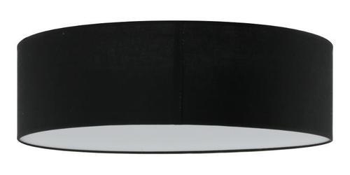 Lampa moderna Iglo 50 Black Plafon