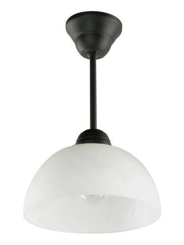 Negru clasic O lampă suspendată în zirconiu