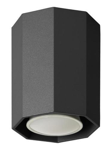 Lampa modernă Okta 10 Black Plafon