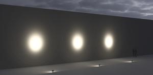 Lampa de inundare a placii Mediu SUNK - LED 3 COB 4000K 14 ° small 2