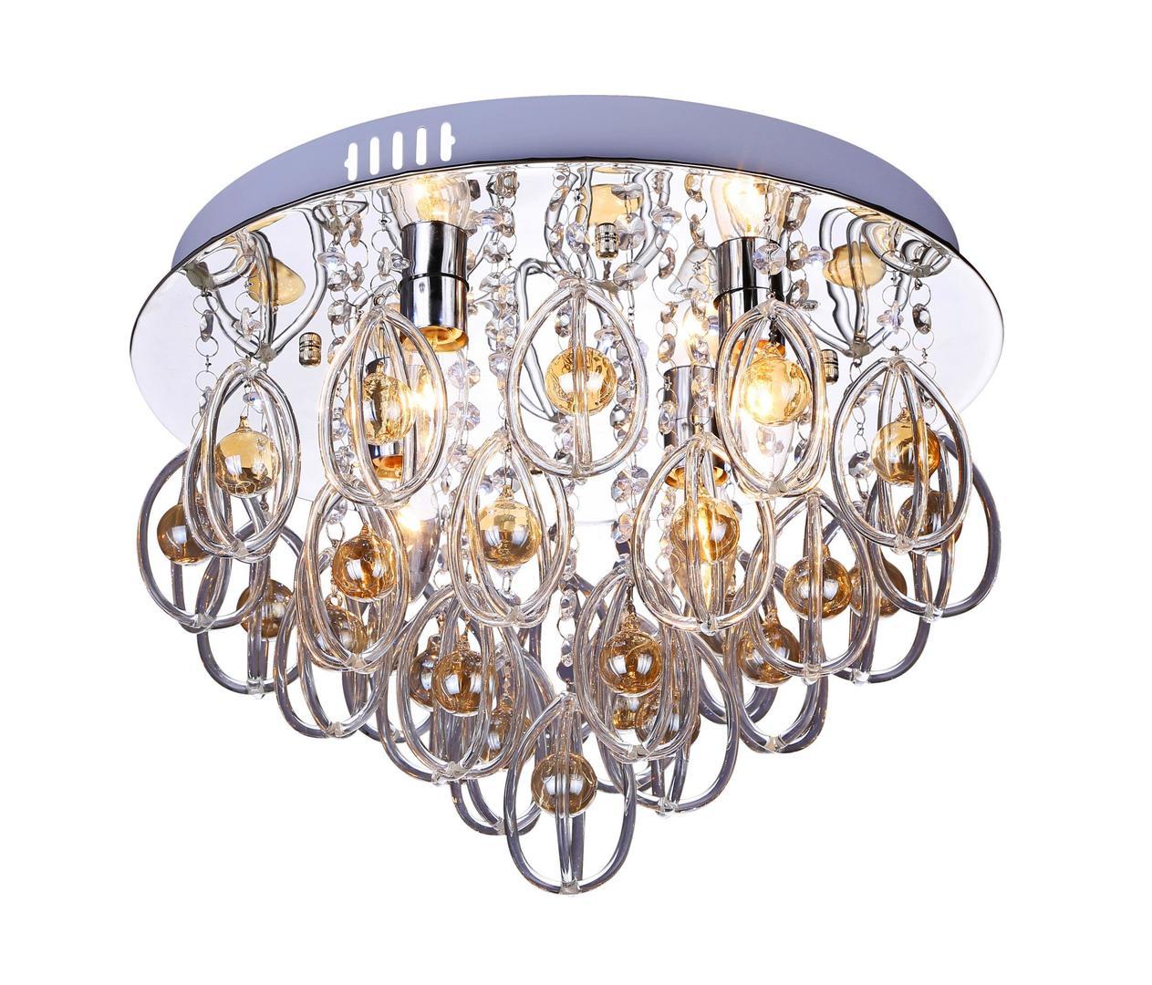 Lampa modernă Ravenna 4 plafon