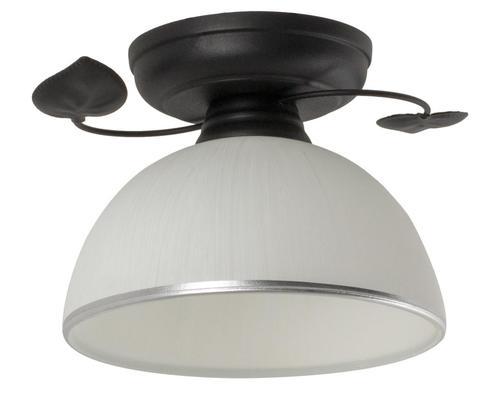 Tanzania clasică O lampă de plafon neagră