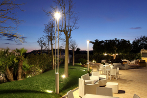 Felinar de grădină platek - TRIS COB LED 3000K small 4