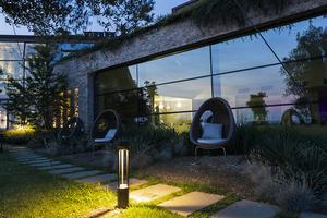 Felinar de grădină platek - TRIS COB LED 3000K small 6