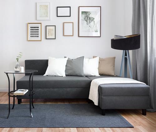 Lampa de podea neagră Crown 60W E27 velur, gri / auriu / argintiu