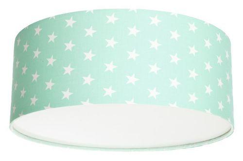 Plafond pentru o fată Luminance stars E27 60W LED menta