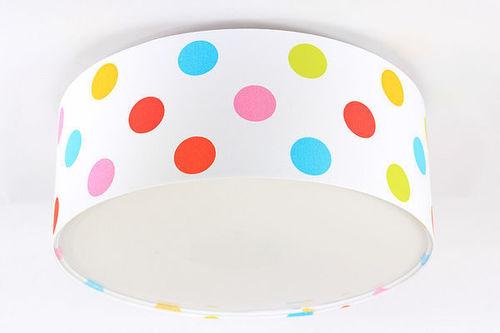 Lampa pentru copii - Luminance E27 60W LED faruri colorate pentru puncte