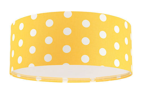 Lampa plafon pentru copii - Luminance E27 60W Plafon LED auriu / alb