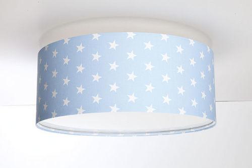 Lampa de tavan pentru camera unui băiat - Luminance E27 60W LED lampă de tavan albastru / alb